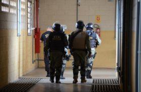 Seris e PM realizam operação integrada na Penitenciária de Segurança Máxima