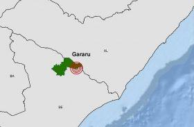 Tremor de terra é registrado em municípios de Alagoas e Sergipe