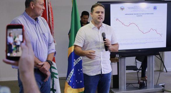 Alagoas registra maior queda do Brasil no número de mortes violentas