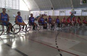 Semudh entrega cadeiras de rodas especiais a 12 atletas do basquete alagoano