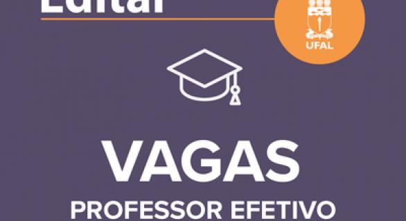 UFAL abre concurso para professor efetivo