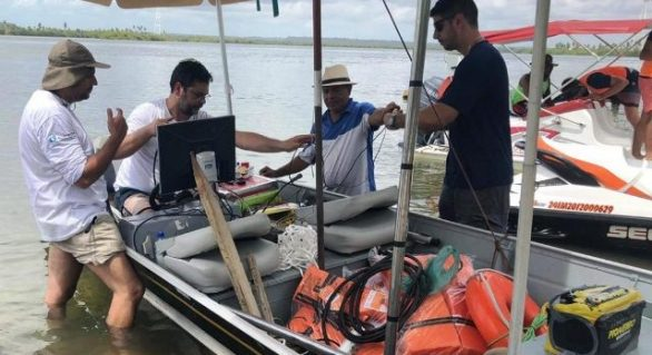pesquisadores iniciam estudo na Lagoa Mundaú