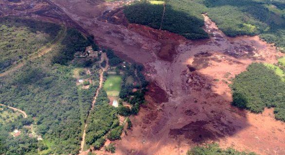 Barragem da Vale se rompe em Brumadinho e empresa admite possibilidade de vítimas