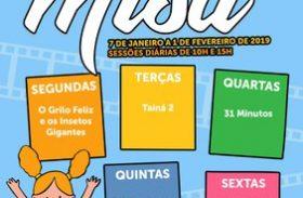 Misa exibirá sessões diárias de filmes infantis