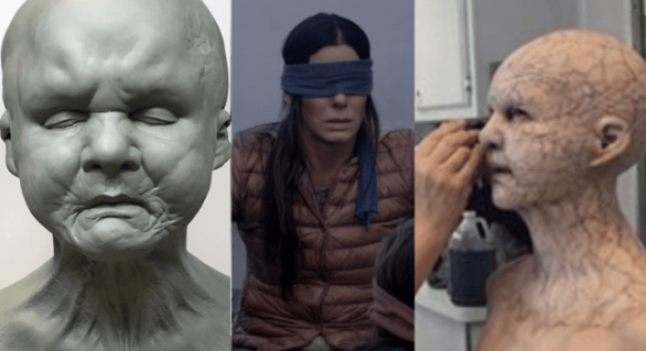 BIRD BOX: Fotos revelam o visual dos monstros