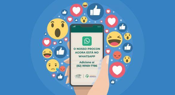 Procon Arapiraca lança serviço de denúncia online via Whatsapp