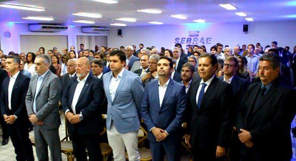 Presidente da Faeal prestigia solenidade de posse de Zezinho Nogueira no conselho do Sebrae