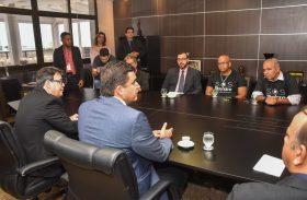 Prefeito se reúne com presidente do TJ/AL e representantes do Pinheiro