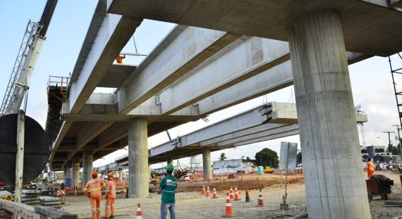 Obra do Viaduto da PRF será concluída até o final deste ano, diz ministro da Infraestrutura