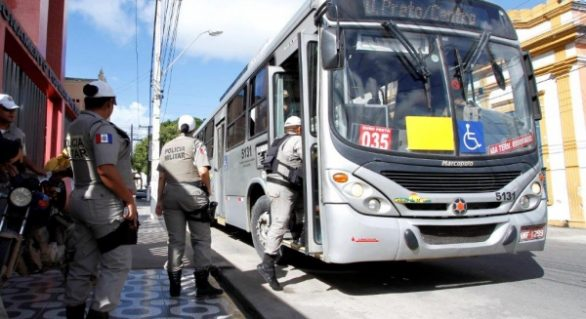 Maceió tem redução de 70% no número de assaltos a ônibus
