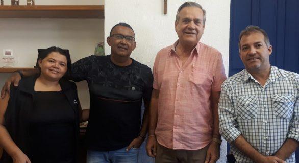 Dirigentes da Fetag-AL participam de reunião com Ronaldo Lessa