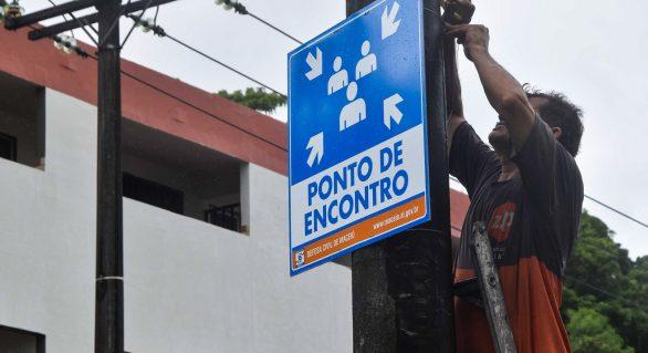 Pontos no Pinheiro recebem identificação visual