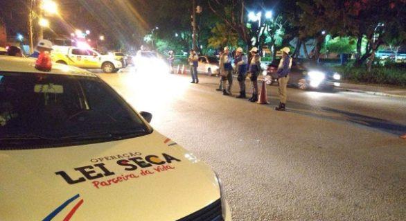 Mais de mil veículos foram abordados durante a Semana Santa
