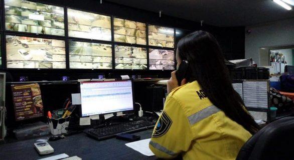 A Central de Monitoramento vai funcionar no feriado da semana santa