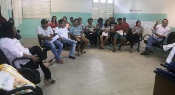 Agentes de Endemias iniciam curso de qualificação, em Palmeira dos Índios