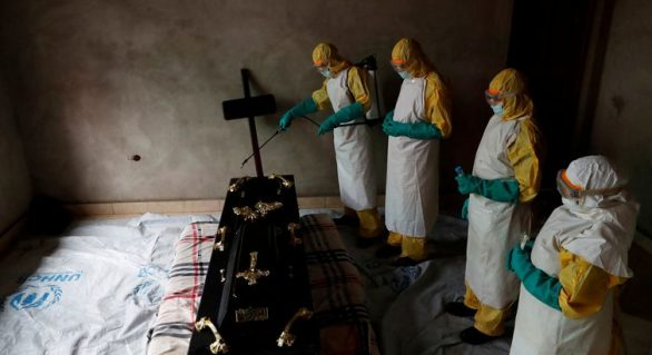 Ebola mata 865 pessoas no Congo