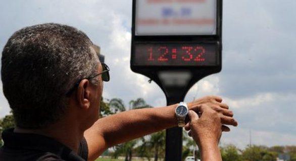 Bolsonaro afirma que não haverá horário de verão em 2019