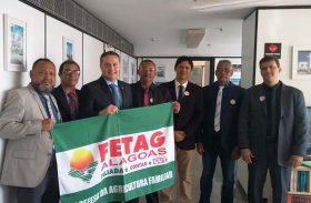Fetag/AL participa de mobilização nacional em Brasília
