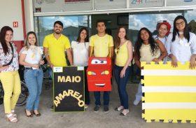 "UPA Trapiche e Benedito Bentes realizam o ""Maio Amarelo 2019"""