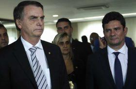 Bolsonaro muda versão e diz que não fez acordo com Moro para STF