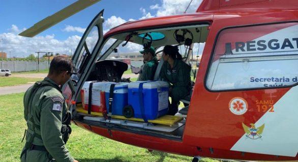 Número de atendimentos do Samu Aeromédico cresce 53% em Alagoas