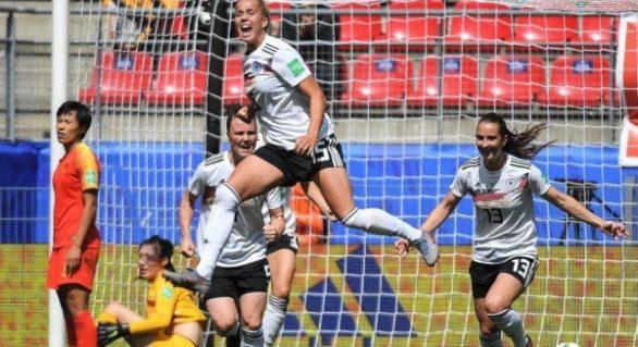Alemanha vence China em estreia na Copa