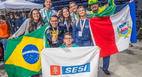 Alunos do Sesi conquistam prêmio inédito no Uruguai