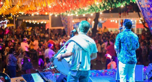 Arraial Pé de Serra segue animando as festas na capital