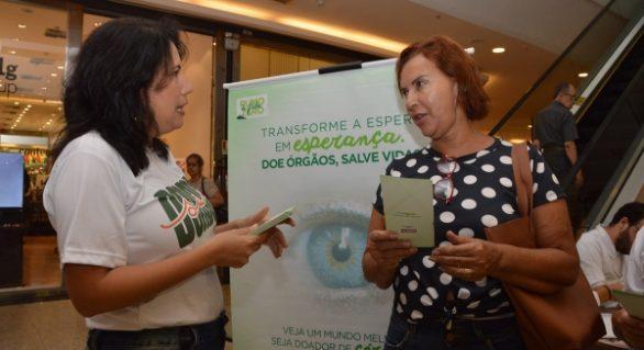 Sesau promove ação para incentivar a doação de órgãos em Maceió