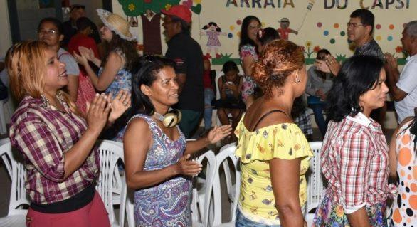 Capsi da Serraria promove São João com usuários