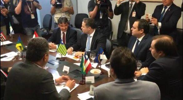 Governadores do Nordeste pediram mais recursos para cobrir déficit previdenciário