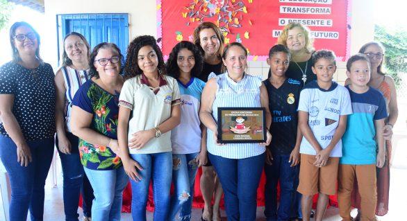 Escola na parte alta de Maceió recebe premiação do projeto MPT na Escola