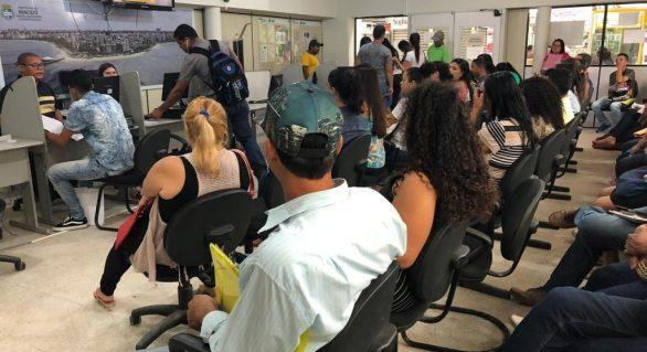 Mais de 350 vagas estão disponíveis no Sine Maceió