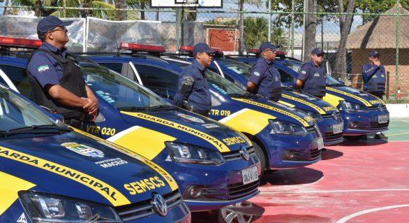 Prefeitura entrega novas viaturas e equipamentos à Guarda Municipal