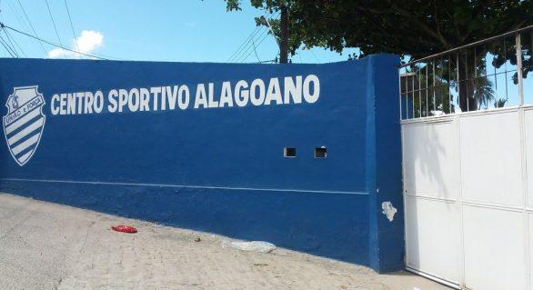 CSA muda programação e fecha último treino em Maceió antes de enfrentar o Fluminense