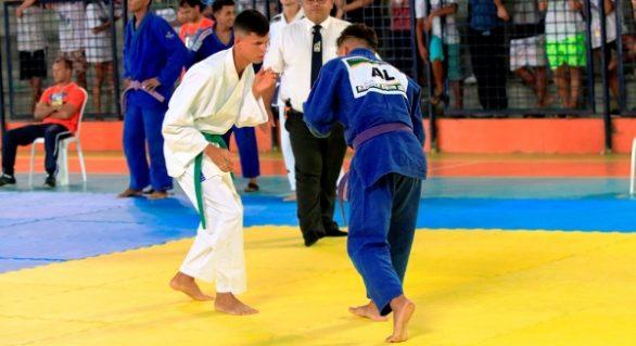 Vaga para campeonato de Judô é disputada em jogos estudantis