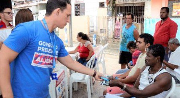 Sesau realiza mais de mil atendimentos na Grota do Cigano