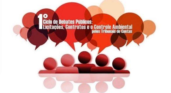 TCE realizará o 1º Ciclo de Debates Públicos: Licitações, Contratos e o Controle Ambiental
