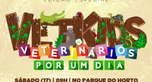 Parque do Horto realiza edição especial do Vetkids no sábado