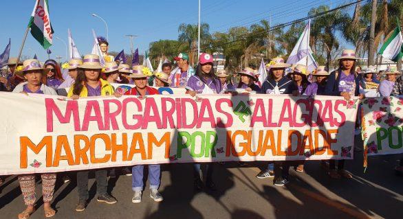 450 Margaridas Alagoanas marcham em Brasília