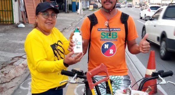 Dia do ciclista é comemorado pela SMTT