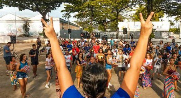 Maracatu Baque Alagoano faz últimos ajustes para a 1ª Edição da Praça dos Folguedos