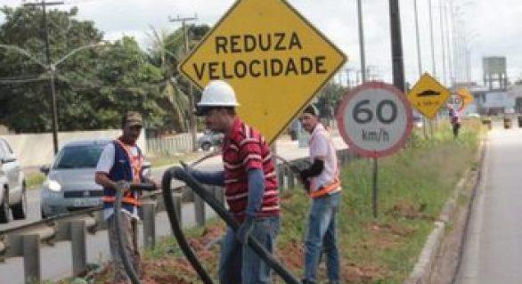 Rodovia José Alexandre tem iluminação concluida em Arapiraca