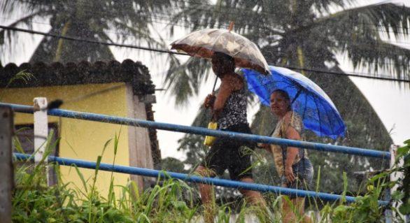 Semarh emite alerta para chuvas em Alagoas