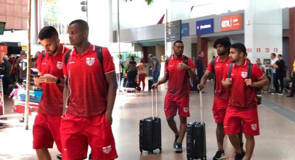 CRB embarca para próxima partida sem Victor Ramos e Ferrugem