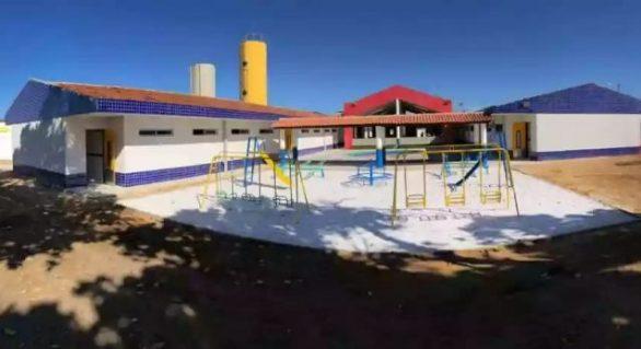 Prefeitura inaugura Cmei Professor Silvânio Barbosa nesta sexta