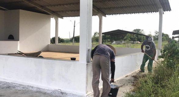 Parque Mair Amaral recebe obras de melhoria para 37ª Expo Bacia