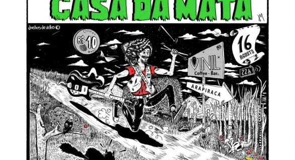Noite psicodélica: Casa da Mata e Pedro Salvador fazem shows vibrantes nesta sexta (16)