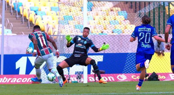 Jordi fala sobre vtória do CSA contra Fluminense