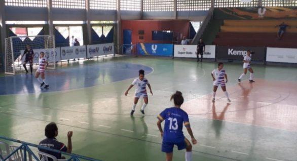 Jubs Maceió começa com empatem sem gols no futsal feminino